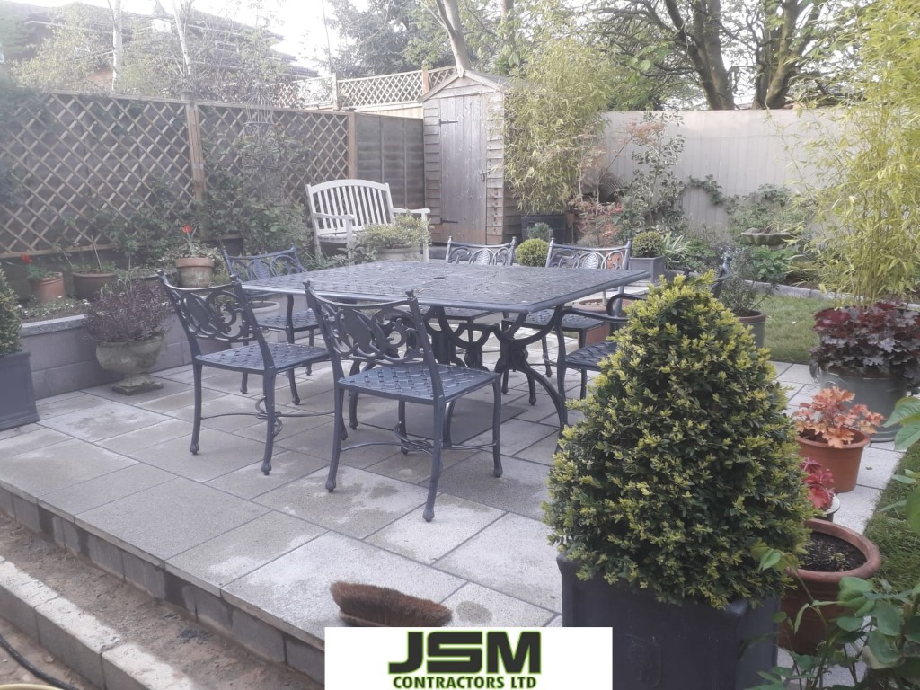 Patio Installers Northampton