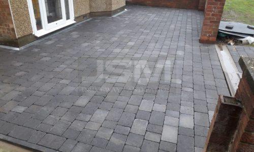 New Block Paved Driveway Installation in Northampton