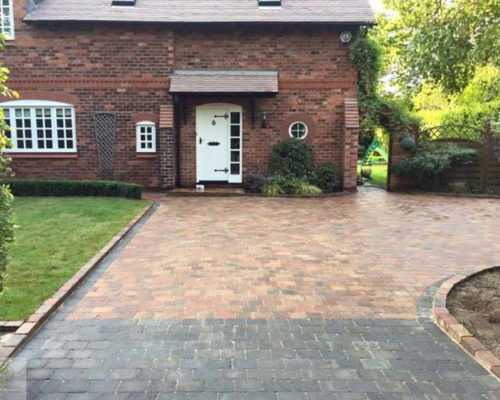 New Block Paved Driveway Installation in Northampton