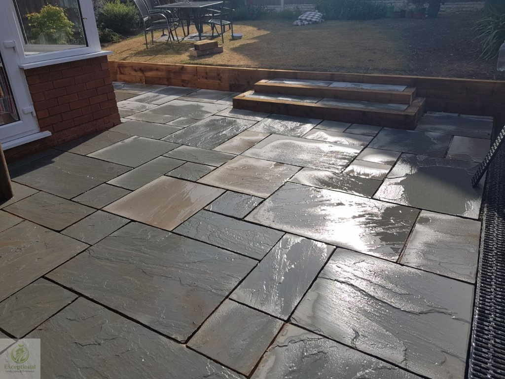 Patio Indian Sandstone Northampton