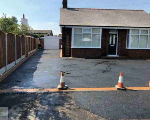 New Tarmac Driveway Completed in Towcester