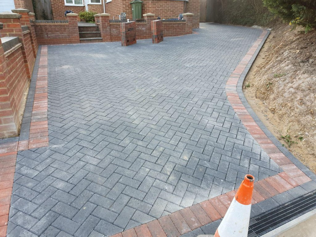 New Block Paving Driveway in Northampton - Northampton Paving