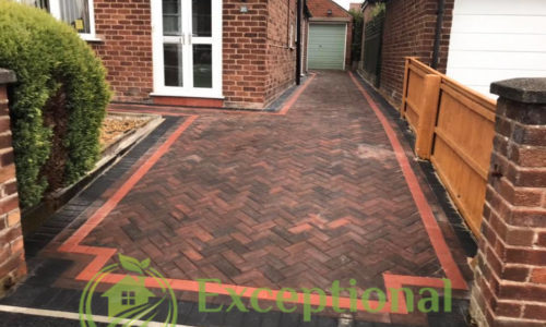New Block Paving Driveway in Northampton