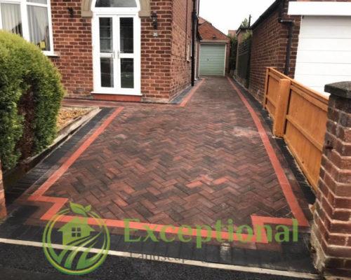 New Block Paving Driveway in Northampton