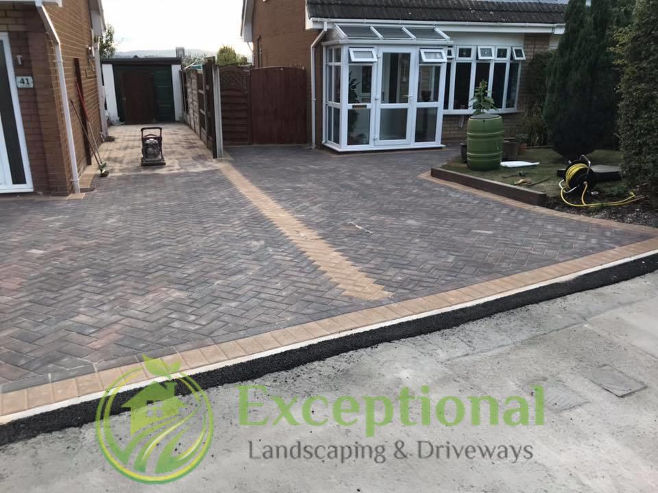 New Driveway Laid in Northampton