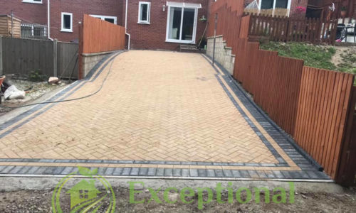 Turning Back Garden Into A Driveway